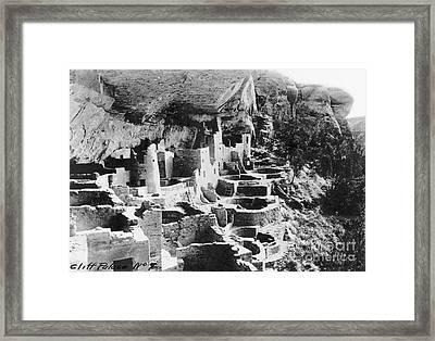 Mesa Verde: Cliff Palace Framed Print