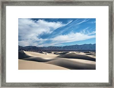 Mesquite Flat Dunes 1969 Framed Print