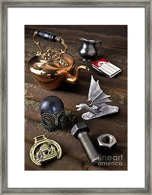 Metals And Alloys Framed Print