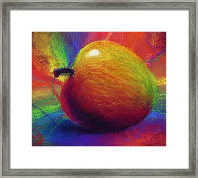 Metaphysical Apple Framed Print