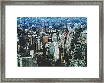 Metropolis Viii Framed Print by David Studwell