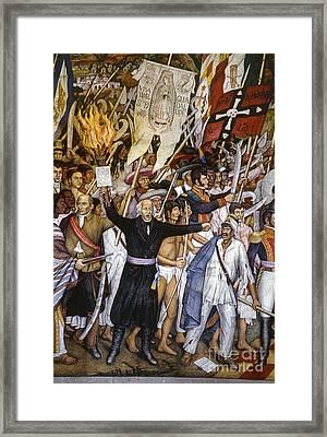Mexico: 1810 Revolution Framed Print by Granger