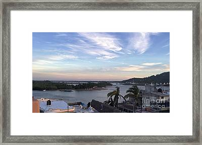 Framed Print featuring the photograph Mexico Memories by Victor K
