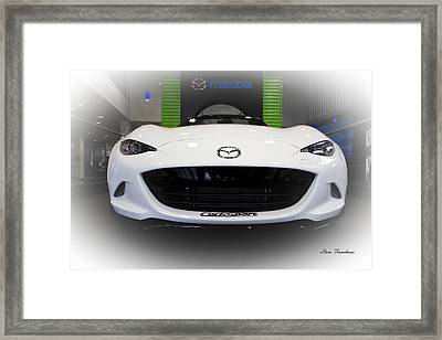 Miata Signed Framed Print