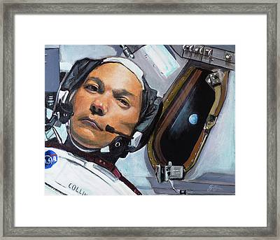 Michael Collins Framed Print by Simon Kregar