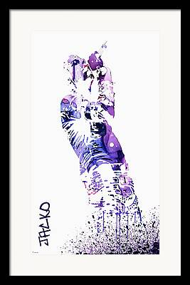 Michael Jackson Abstract Art For Sale Framed Prints