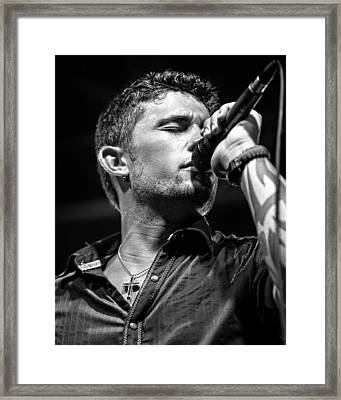 Michael Ray Framed Print by Christopher Holmes