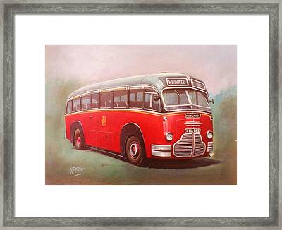 Midland Red C1 Framed Print by Mike  Jeffries
