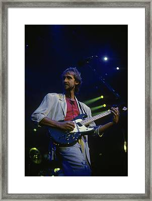 Mike Rutherford Framed Print by Rich Fuscia