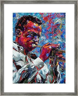 Miles Davis Framed Print by Debra Hurd