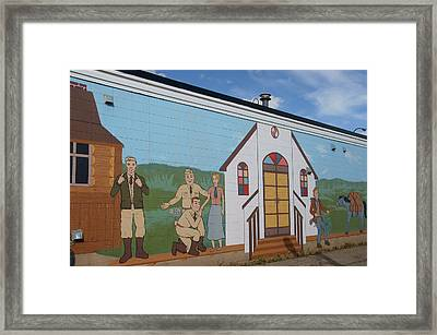 Military Street Art Framed Print by Robert Braley