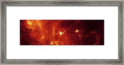 Milky Way Galaxy Framed Print by Stocktrek Images