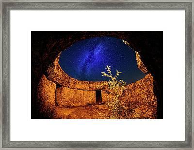 Milky Way Framed Print by Okan YILMAZ