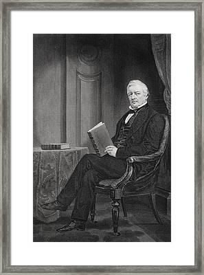 Millard Fillmore 1800 To 1874. 13th Framed Print