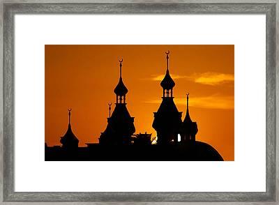 Minarets Over Tampa Framed Print by David Lee Thompson