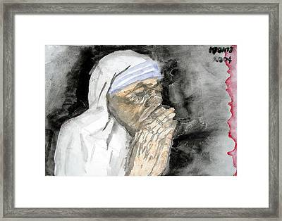 Miracle Mother Framed Print by Rooma Mehra