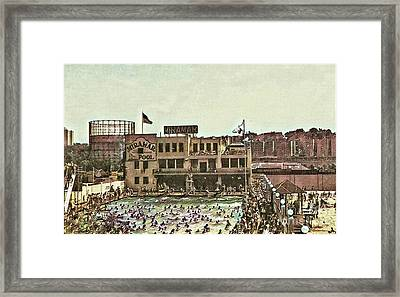 Miramar Saltwater Pool  Framed Print
