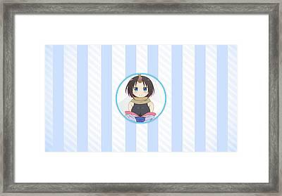 Miss Kobayashi's Dragon Maid Framed Print
