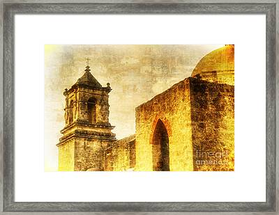 Mission San Jose San Antonio, Texas Framed Print