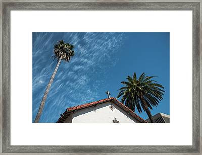 Mission San Rafael Arcangel Framed Print by Richard White