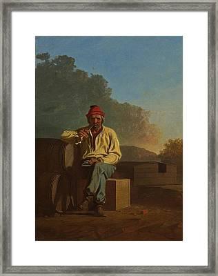 Mississippi Boatman Framed Print