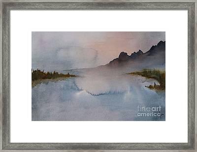 Mist Framed Print by Annemeet Hasidi- van der Leij