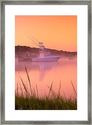 Misty Morning Osterville Cape Cod Framed Print