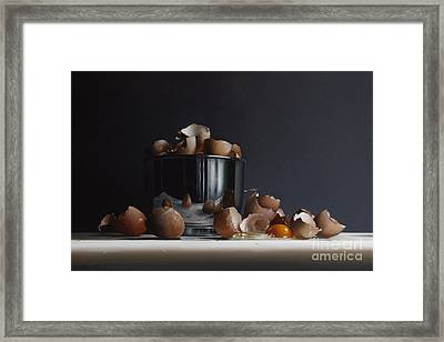 Mixing Bowl With Eggs Framed Print