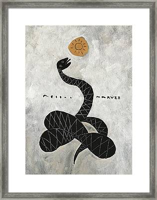 Mmxvii Life And Immortality No 1  Framed Print