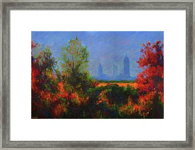 Mobile Skyline From Felix's Framed Print
