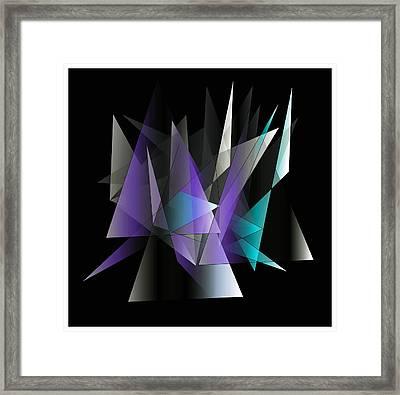 Modern 3 Framed Print