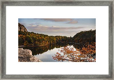 Mohonk Mountain House Lake Framed Print