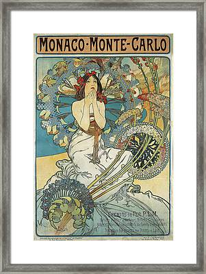 Monaco Monte Carlo Framed Print by Celestial Images