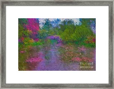 Monet's Lily Pond Framed Print by Jim  Hatch