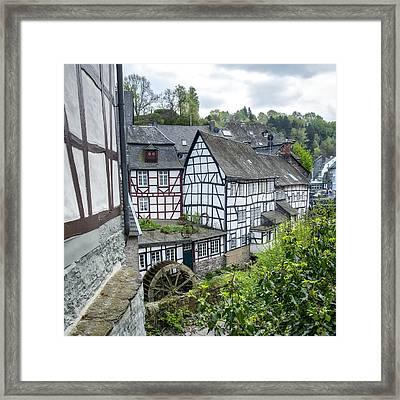 Monschau In Germany Framed Print