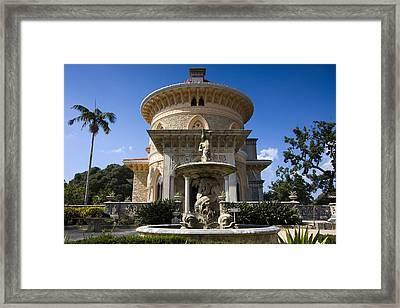 Monserrate Palace Framed Print by Andre Goncalves