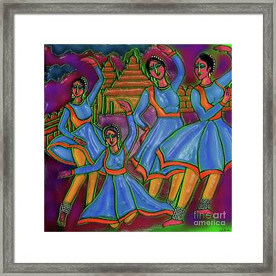 Monsoon Ragas Framed Print