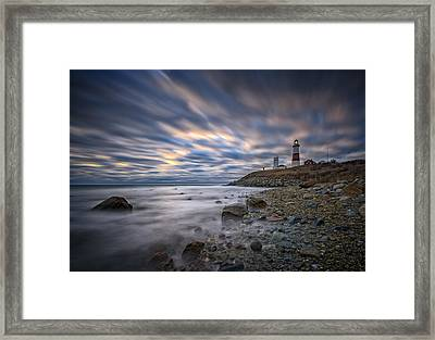 Montauk Dawn Framed Print
