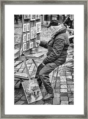 Montmartre. Framed Print by Pablo Lopez