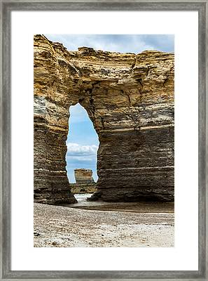 Monument Rocks Framed Print by Jay Stockhaus