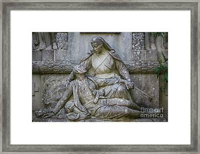 Framed Print featuring the photograph Monument To The Duchess Of Victory Genoves Park Cadiz Spain by Pablo Avanzini