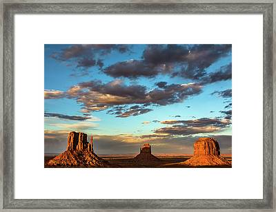 Monument Valley Framed Print by James Marvin Phelps