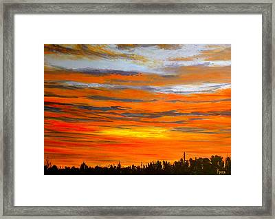 Mornin Framed Print by Pete Maier