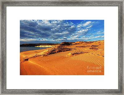 Morning Couds Framed Print by Thomas R Fletcher