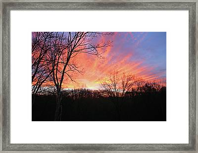 Framed Print featuring the photograph Morning Has Broken by Kristin Elmquist