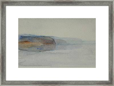 Morning Haze In The Swedish Archipelago On The Westcoast. Up To 36 X 23 Cm Framed Print