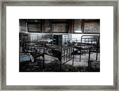 Morning Light After Nightmare - Urban Exploration Framed Print by Dirk Ercken