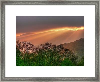 Framed Print featuring the photograph Morning Light by Doug McPherson