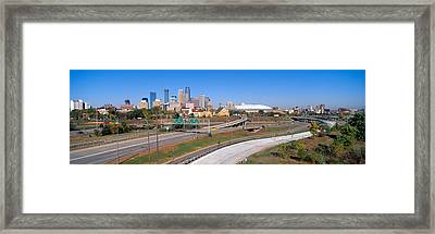 Morning, Minneapolis, Minnesota Framed Print by Panoramic Images