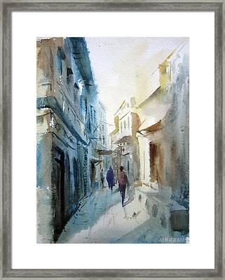 Morning Of Lahore Framed Print by MKazmi Syed